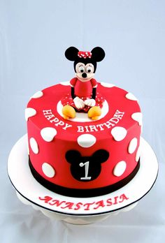 minnie mouse birthday cake - Google Search