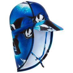 9af6eccd021 Boys Blue Stingray Sun Protective Hat (UPF40+)