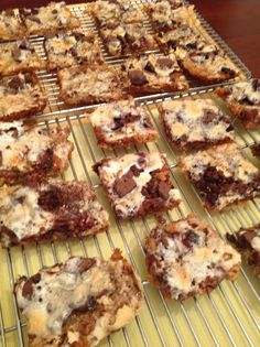 S'mores bars ... can't resist them!