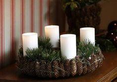 Billig og nem inspiration: Her er tre bud på naturlige adventskranse