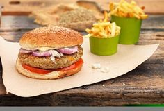 Νηστίσιμες Συνταγές - Συνταγές για τη Νηστεία | Argiro.gr The Kitchen Food Network, Tasty, Yummy Food, Vegan Burgers, Food Categories, Going Vegan, Street Food, Food Network Recipes, Finger Foods