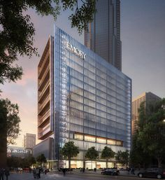 Timber Buildings, Modern Buildings, Office Buildings, Best Practice, Som Architecture, Architecture Visualization, Contemporary Architecture, Hospital Design, Glass Facades