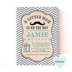 70 Best Little Man Mustache Baby Shower Images Moustache Baby