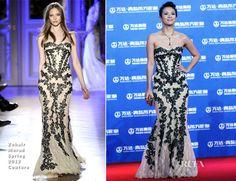 Zhang Ziyi In Zuhair Murad Couture - Qingdao Oriental Movie Metropolis Ceremony