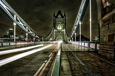 Tower Bridge - night time by Mario Baumgartner on 500px