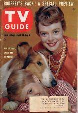 1960 TV Guide April 30 - Lassie and June Lockhart; Michael Ansara; Mary Sinclair