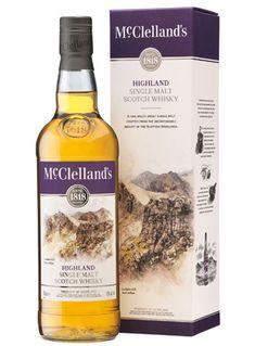 McClellands Highland - McClelland's Single Malt Scotch Whisky