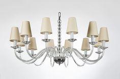 prosty zyrandol krysztalowy soho elmos crystal chandelier 155cm swarovski elements