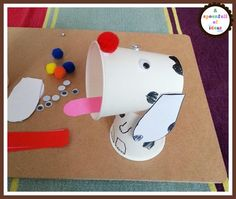Spot the dog by Eric hill and crafts.