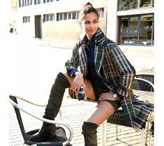 Kostkovaný trenčkot s páskem | blancheporte.cz #blancheporte #blancheporteCZ #blancheporte_cz #moda #fashion #exkluzivni #exclusive Dressing, Baby Strollers, Punk, Plaid, Shirts, Women, Style, Fashion, Baby Prams