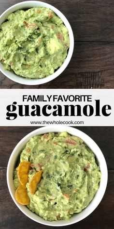 This guacamole recipe is so easy and ready in 10 minutes or less! You'll love it as an appetizer, snack, or topping on basically everything!