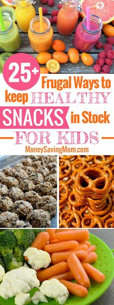 Need easy snack ideas for kids that are healthy and budget-friendly? Check out this HUGE list of ideas and tips!  #healthysnacks #healthysnacksforkids #budgethealthyeating