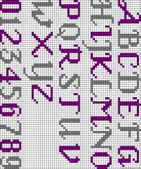 Resultado de imagen para bead loom bracelet patterns letters                                                                                                                                                     More