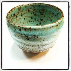 Handmade Little Green Japanese Tea Cup, @Christall Lowe, Perfect Pistachio for www.maisyandgrace.co.nz