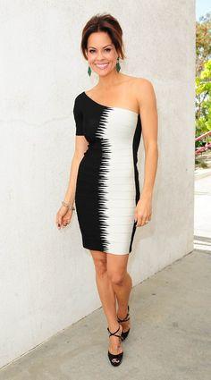 Brooke Burke, One Shoulder, Shoulder Dress, Dresses, Fashion, Vestidos, Moda, La Mode, Fasion