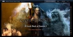 #GameofThrones returns in late March 2013. Weeks before the season premiere, cabler HBO unveiled a new 'Season 2 Catch-Up Guide' providing a lock back at the second season.