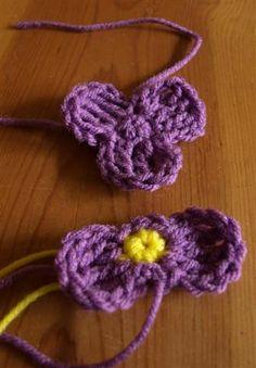 Pétalos instancia de parte Delantera y Trasera de Los Pétalos los antes de coser juntos ❥Teresa Restegui http://www.pinterest.com/teretegui/❥