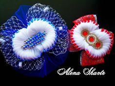 Цветы канзаши из узких лент 0,6 см канзаши, МК  Лерита  / DIY satin ribbon flower, kanzashi - YouTube