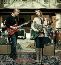 Susan Tedeschi and Derek Trucks  The most BAD ASS couple to ever live!
