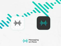 Massaging on Move - App Icon by Gian Marco Maurizi
