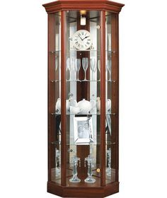 Buy Argos Home 1 Glass Dr Corner Display Cabinet - Mahogany Eff at Argos. Thousands of products for same day delivery or fast store collection. Black Display Cabinet, Corner Display Cabinet, Corner Curio, Display Shelves, Glass Shelves, Display Cabinets, Wall Shelves, Crockery Cabinet, Cabinet Decor