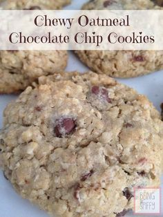 My absolute favorite chocolate chip cookies. They stay soft for days! Recipe from {Being Spiffy}