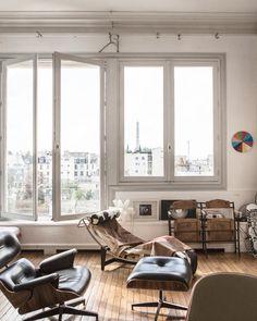 Ramdane and Victoire's Paris Apartment.