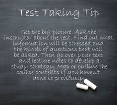 essay questions test taking tips