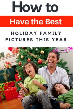 Are you tired of boring holiday family pictures? Check out these amazing tips to have the best Christmas photos ever whether you go to a photographer or diy them at home. Christmas Movies, Christmas Holidays, Christmas Crafts, Christmas Decorations, Christmas Activites, Christmas Ideas, Christmas Ornaments, Christmas Portraits, Christmas Photos