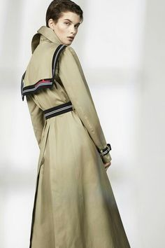 Trend  Camel+Trench Resort 16 Preen http://www.vogue.co.uk/fashion/spring-summer-2016/ready-to-wear/preen-by-thornton-bregazzi-pre/full-length-photos/gallery/1406228