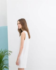 10 Zara Dresses You Could Rock at Your Wedding for $100 or Less (Plus a Few Mismatched Bridesmaid Dress Ideas) | Southern New England Weddings | Dress and Image from Zara