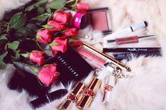 pink rose , bobbi brown , ysl
