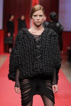 How much do we all love a chunky black sweater?