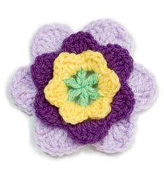 1000+ images about CROCHETED FLOWERS on Pinterest ...