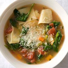 Tuscan Turkey Soupy Noodles Reviews  | Epicurious.com
