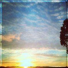 Sunset #photoadaymay Day 2: #skyline - @nochesazules- #webstagram