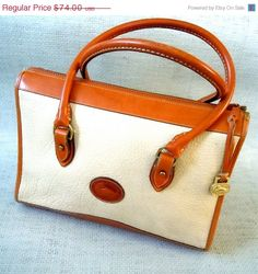 ON SALE Dooney Bag/ Dooney & Bourke by SararaVintage on Etsy, $62.90