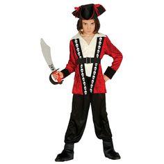 Disfraz de Pirata Calavera Niño #disfraces #carnaval #novedades2016