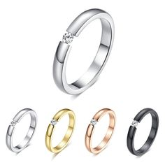 Women Jewelry Ring Size 6-12 Crystal Fashion Wedding Band Ring New  #Unbranded #Band