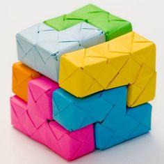 walyou Tetris Origami Design