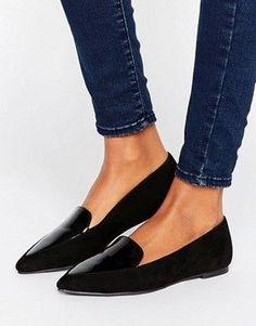 Damen Ermäßigung ASOS – MATCH POINT – Spitze, flache Schuhe