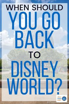 Planning when to visit Walt Disney World is already a difficult decision, but with everything happening so far in 2020, it's proved to be a bigger challenge than usual. The question many people is if it's safe. Read here for details. #disney #disneyplanning #disneytrip #disneyvacation #disneyworld