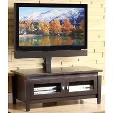 Whalen TV Stand with Swinging Mount, for TVs up to 50 inch, Brown Unique Tv Stands, Simple Tv Stand, Cool Tv Stands, Tv Stand Hutch, Ikea Tv Stand, Diy Tv Stand, Dog Kennel Cover, Diy Dog Kennel
