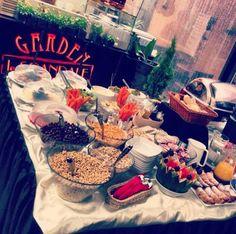 breakfast at garden le scandale