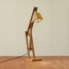 Wolf+&+Maiden+Lamp+–+Brown+Kiaat+Wood+from+Let+There+Be+Lighting+