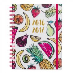 Tropical fruit A5 mid year 2016/17 diary - Diaries - Diaries & Organisers - Stationery
