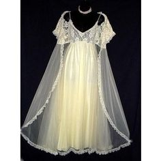 vintage nightgowns | love vintage nightgowns | ** My Lingerie Chest **
