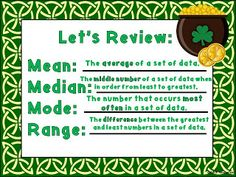 Central Tendency (Mean, Median, Mode and Range) Captains!