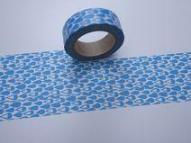 Tape WASSERTROPFEN DROP Tropfen in blau