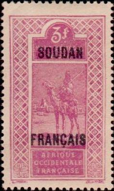 1930: Stamp of Upper Senegal & Niger (צרפתיות, מושבות ושטחים) (Sudan) Yt:FR-SU 59,Mi:FR-SU 47,Sn:FR-SU 48